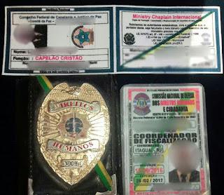 Integrante de comissão de Direitos Humanos é preso por porte ilegal de arma em Itaguaí (RJ)
