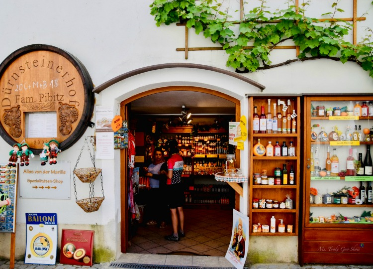 Are you seduced by a charming storefront? This one is in Durnstein, Austria | Ms. Toody Goo Shoes