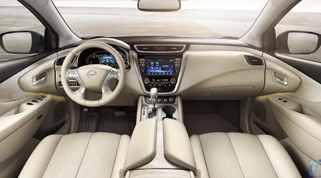 2019 Nissan Murano Interior
