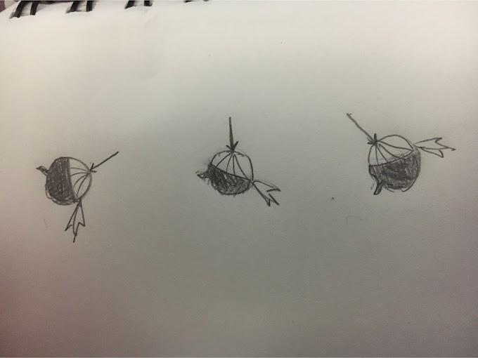デフォルメされた髪の毛の描き方