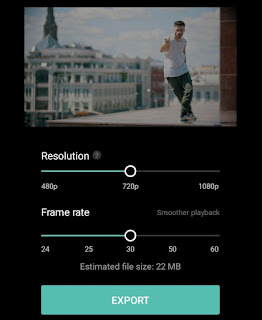 save your selfie video to gallery