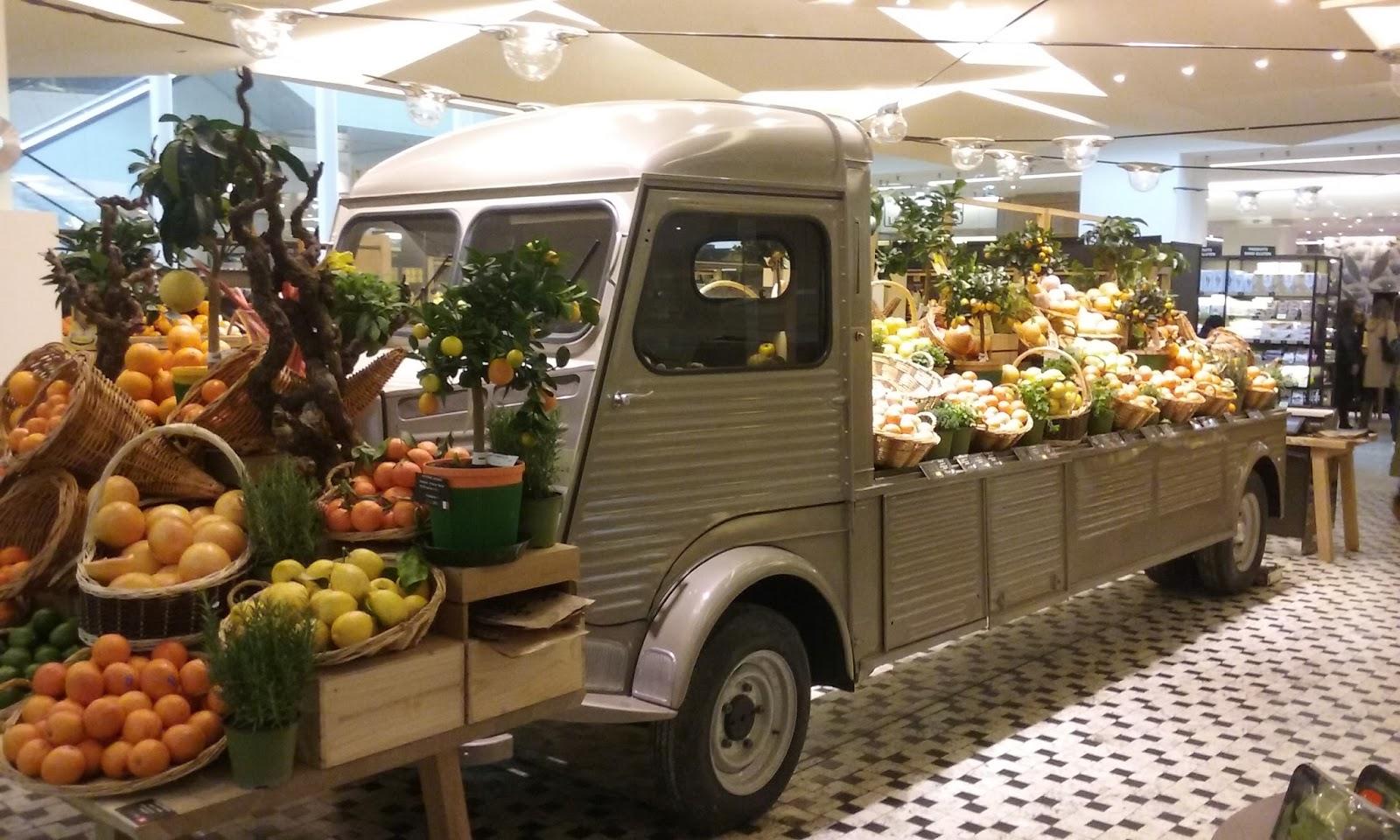 Tony and judy in paris markets and buses le grand epicerie - Epicerie japonais paris ...