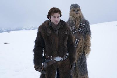 Chewie y yo después de la taquilla recaudada
