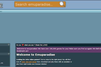Cara Download Game PPSSPP di Emuparadise Paling Mudah