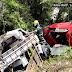 Grave acidente registrado na BR 282 em São José do Cerrito.