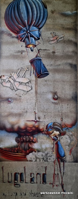 Trasa Łazienkowska graffiti #streetart #podpory trasy Łazienkowskiej warszawskie murale