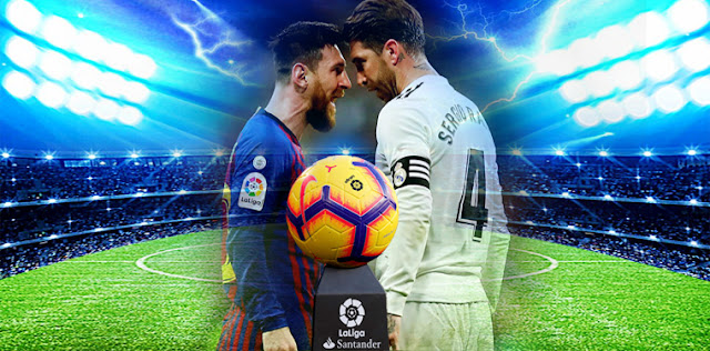 عودة الدوري الاسباني لارض الميدان واول مبارة سوف تلبب الخميس القادم - اعرف موعد مباراة برشلونة ضد مايوركا - موعد مباراة ريال مدريد و ايبار - موعد مباراة ريال بيتيس وإشبيلية