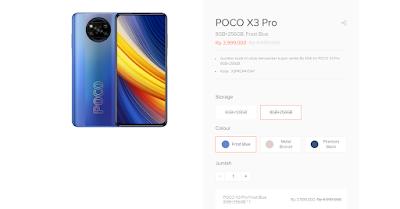 Poco X3 Pro Shopee, Harga Bisa Lebih Murah