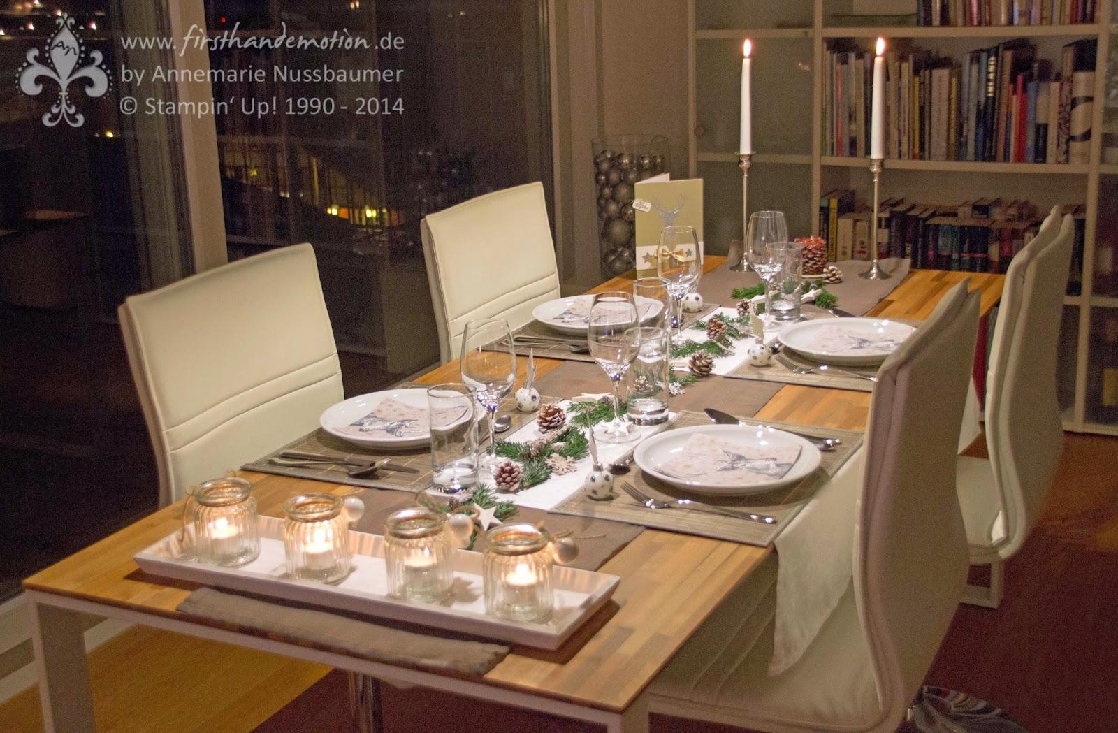 festlich gedeckter tisch weihnachten wohn design. Black Bedroom Furniture Sets. Home Design Ideas