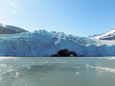 Aialik Glacier is a Little Over 15 Miles from Seward