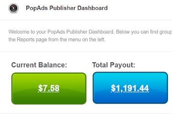 Popads.net Review 2021- Payment Proof $1197 From Popads.net, CPM Rate, Payment Proof, Earning, Minimum Payout
