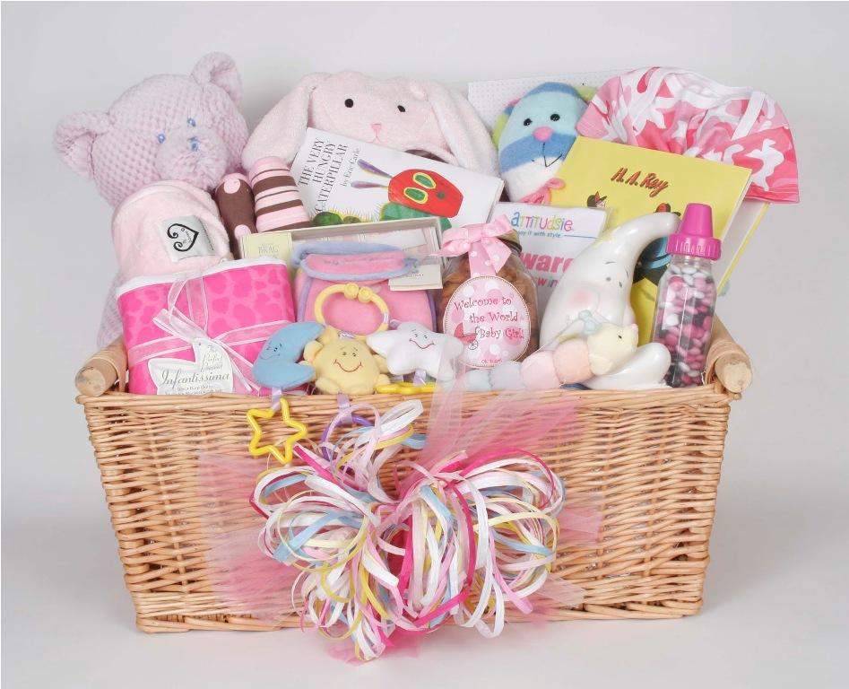 Baby Gift Basket Ideas - Happy Life Living
