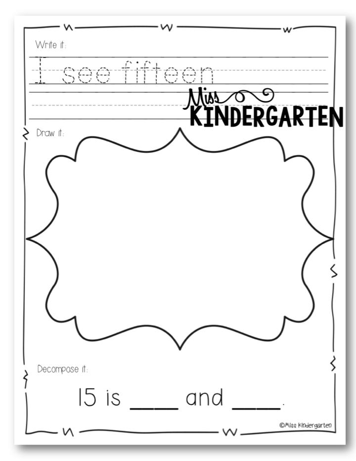 July 2014 - Miss Kindergarten