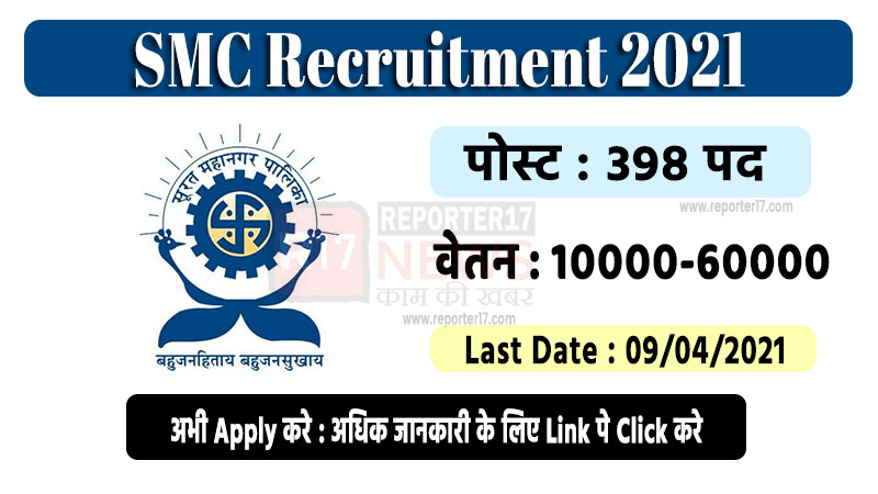SMC Recruitment 2021