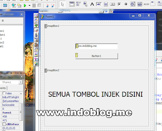 Proteksi Form Login Program Dengan Delphi di Windows