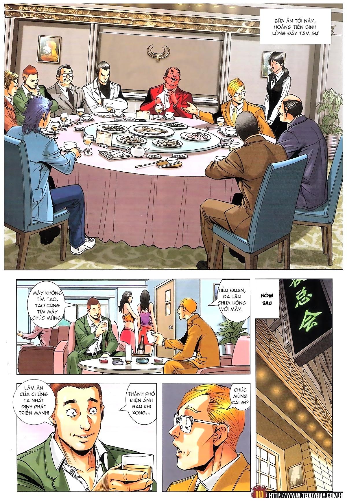 Người Trong Giang Hồ chapter 1815: tiêu diệt tam liên trang 9