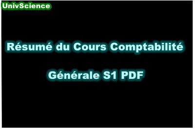 Résumé Du Cours Comptabilité S1 PDF.