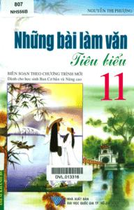 Những Bài Làm Văn Tiêu Biểu Lớp 11 - Nguyễn Thị Phượng