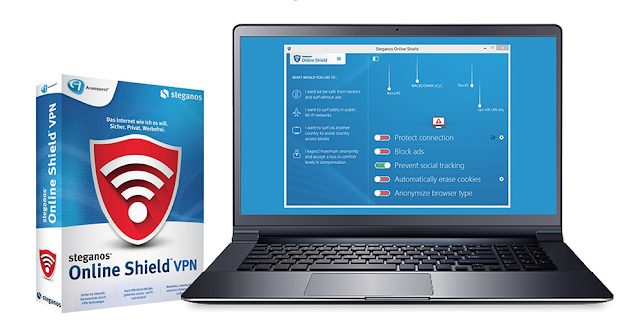 [GIVEAWAY] Steganos Online Shield VPN [FREE FOR 1 YEAR]