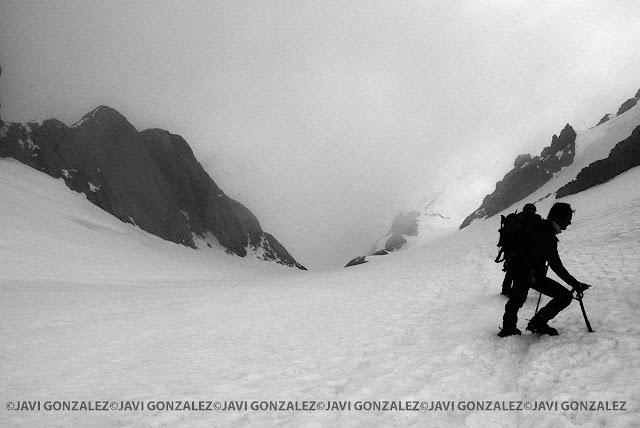 Escupidera, tramo final, Monte Perdido.