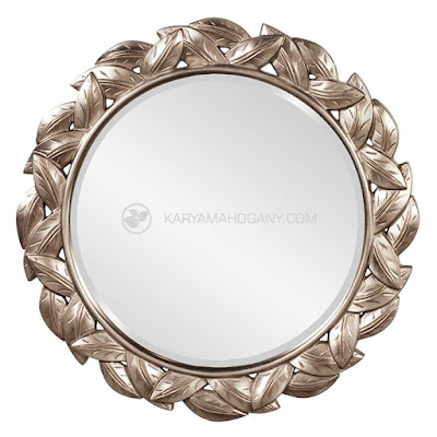 Cermin Dinding Motif Daun | Harga Cermin Dinding