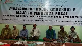 Ketua Umum MPP IKBAS PPMU Panyeppen: 'Lawan Kapitalisme!!!'