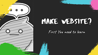 The big line about have websites you need to know | part 1