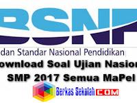 Prediksi Soal UN (Ujian Nasional) SMP Tahun 2017