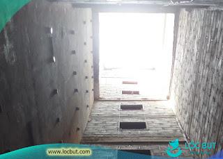 Hệ thống loa dẫn khi xây dựng nhà yến.