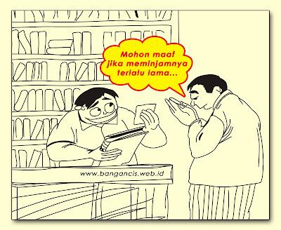 Pinjam Buku Perpustakaan