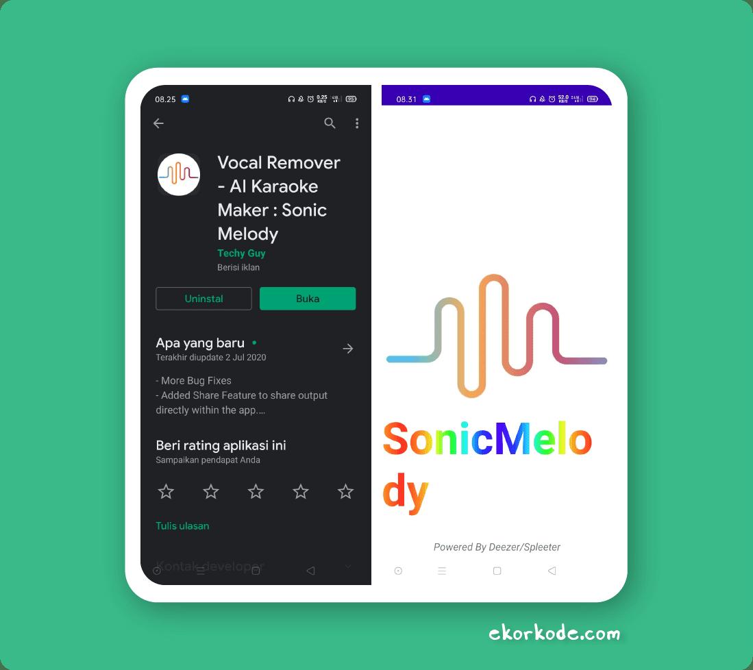 Hapus Vokal Cara Menghapus Suara Vokal Penyanyi Musik Mp3 Lewat Hp Android Ekorkode Com