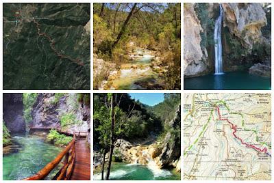 Ruta sendero río Borosa en la Sierra de Cazorla