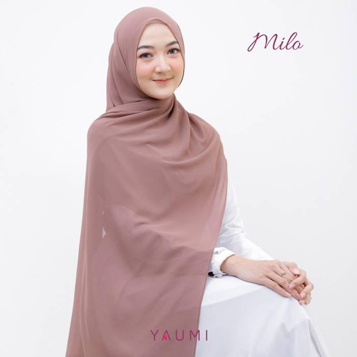 Yaumi Hijab Pashmina Milo