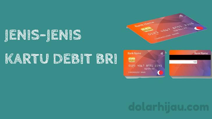 jenis kartu debit bri