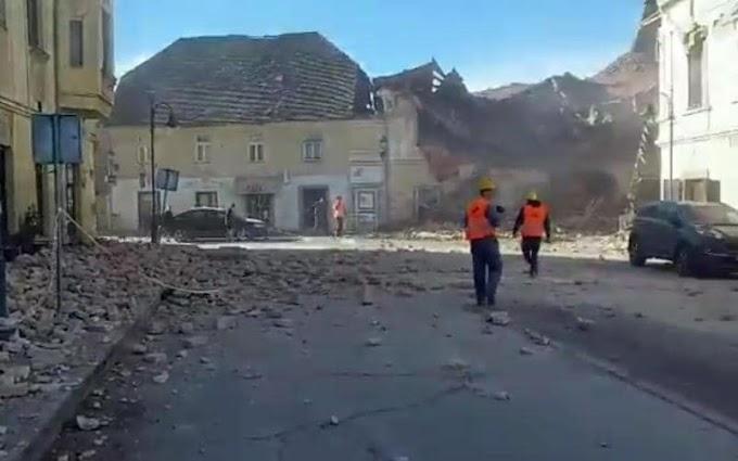Forte terremoto in Croazia, almeno un morto e diversi feriti