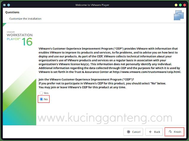 Tutorial Cara Install VMware Workstation Player di Ubuntu 20.04 LTS