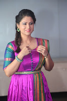 Shilpa Chakravarthy in Purple tight Ethnic Dress ~  Exclusive Celebrities Galleries 029.JPG
