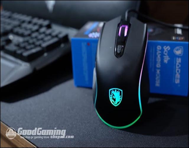 Mouse untuk bermain game harga 200 ribuan