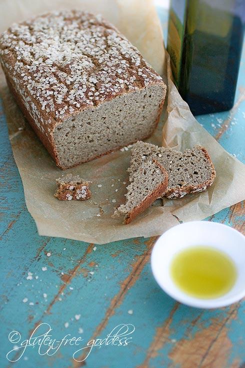 Pan libre de gluten. FOTO: Gluten-free Goddess