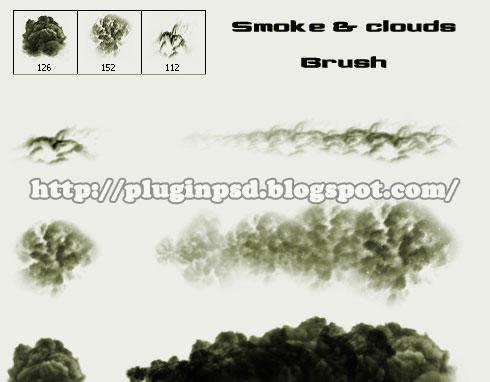 Smoke and Clouds Brush   Plugin Photoshop