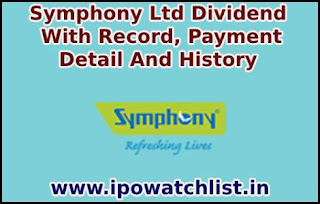 Symphony dividend