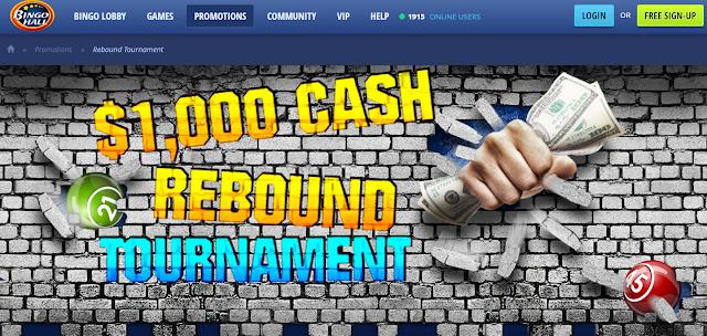 Rebound Tournament | Bingo Hall