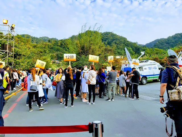 pingxi shifen lantern festival queue