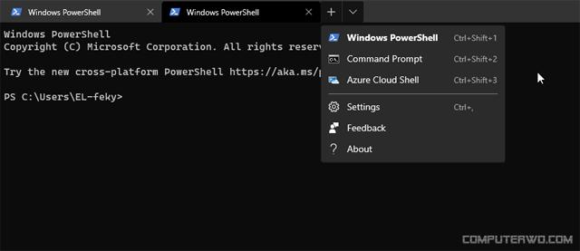 مميزات برنامج Windows Terminal الجديد لويندوز 10 Screenshot_2