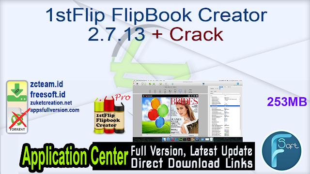 1stFlip FlipBook Creator 2.7.13 + Crack_ ZcTeam.id