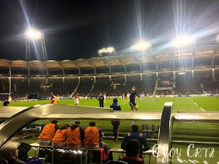 Match de nuit, stadium de toulouse