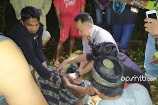 Tragedi Air Terjun Jeruk Manis, Dua Mayat Mahasiswa Unram Berhasil Dievakuasi