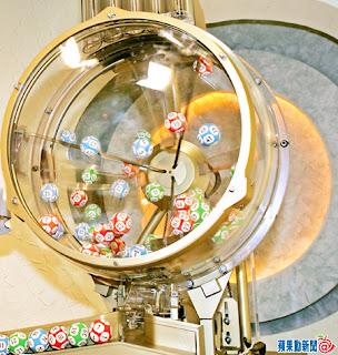 六合彩電動攪珠機,中獎機會率點計?