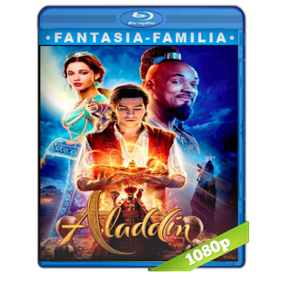 Aladdin (2019) BRRip Full 1080p Audio Trial Latino-Castellano-Ingles 5.1