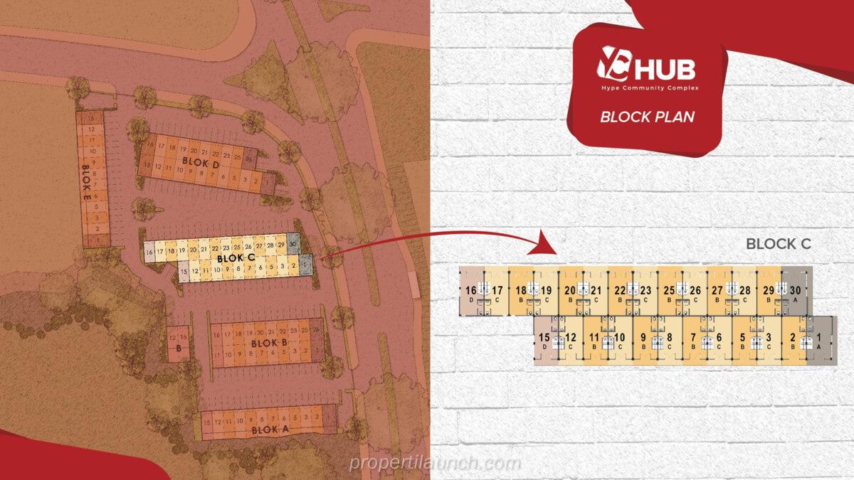 Blok C Ruko YC Hub